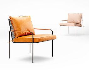 3D Barnaby Lane Fitzroy armchair