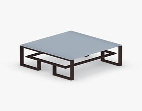 0468 - Coffee Table 3D asset low-poly