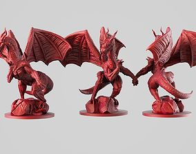3D print model creature Dragon