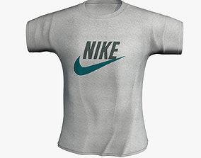 T-shirt Nike 3D model