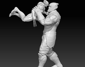 Thanos vs Wolverine 3D printable model