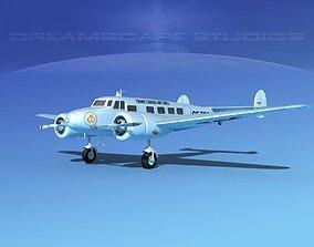 3D Lockheed L10 Electra Trans-Canada