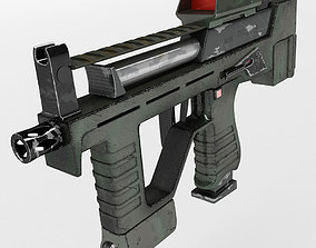 3D Submachine Gun PP-2007