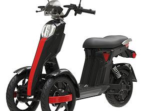 3D electric scooter Doohan iTango