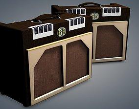 65 amp guitar amp 3D model
