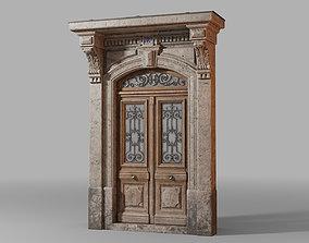 Neoclassic door 2 3D model