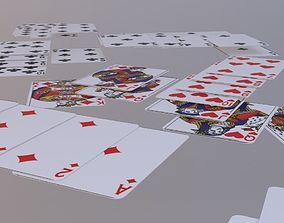 3D model Playing Cards