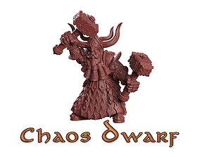Chaos dwarf 3D printable model