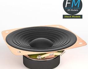 3D Woofer speaker