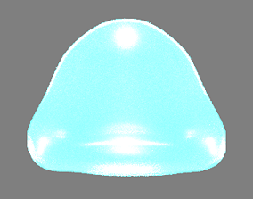 Slime - Animated 3D asset realtime