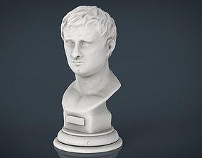 3D asset Agrippa Bust