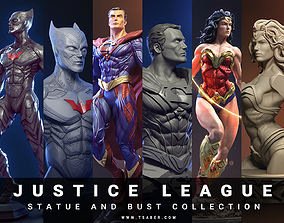 Justice League collectibles Statues and busts - 3D 1