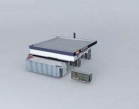 3D model Repsol YPF Gas