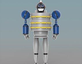 sci fi Robot 3D model