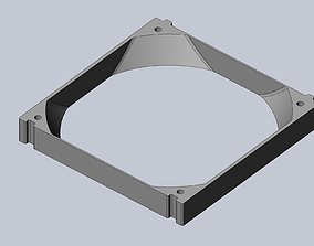 120mm Cooling Fan Extender For PC 3D print model