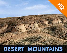 Desert Terrain Surface Landscape Environment PBR 3D asset