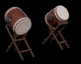 3D model realtime Taiko Drum