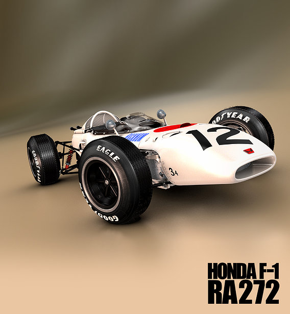 HONDA RA272 Mexican Grand Prix 1965