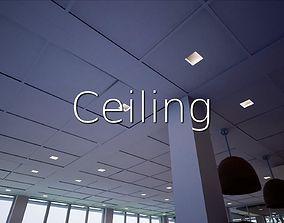 3D asset Ceiling SHC Quick Office LM