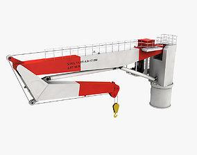 3D asset Ship Deck Crane