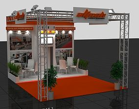 Wg Exhibition Stand 3D model