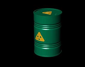 Barrel 3D Models oil barrels gas gasoline container