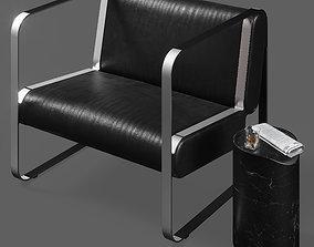 3D Easy Chair OVA