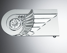 Belt buckle 3D printable model