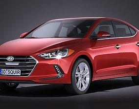 Hyundai Elantra 2017 3D
