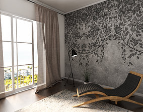 vray 3D Lounge Chair