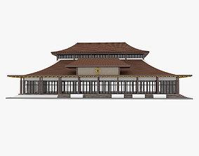 3D Mongolian Building 1