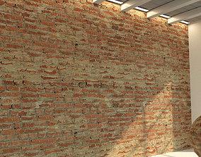 Brick wall Old brick 53 3D
