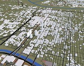 3D model Philadelphia City USA