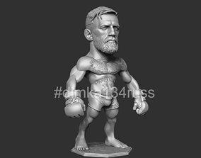 printing Conor McGregor 3D printable model