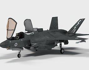 Lockheed F-35 B British decals 3D