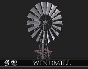 3D model Aeromotor WindMill