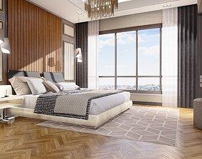 3d Modern Interior Bedroom 3D