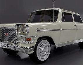 Devrim 1961 first car Turkey Republ 3D