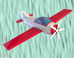3D model Cartoon Plane AirCraft