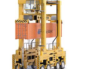 Straddle Carrier Kalmar 3D model