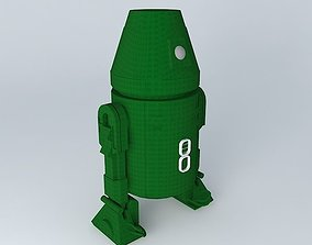 3D R4 industrial automation droid
