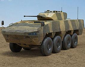 patria 3D model Patria AMV