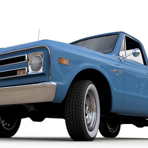 1968 CHEVY C10 PICKUP STEPSIDE TRUCK