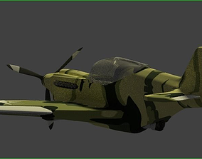3D model My Own design P-90 Military Aircraft