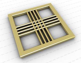Cross 3D asset game-ready cross