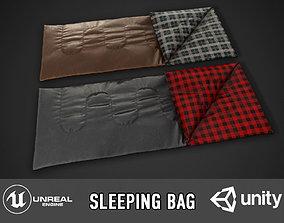 Sleeping Bag 3D model VR / AR ready