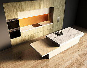 3D model 13-Kitchen1 texture 2