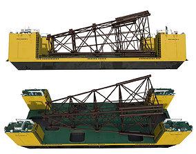 Platforma FELS CAN DO II 3D model