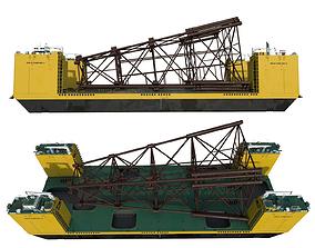 3D asset Platforma FELS CAN DO II