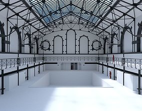 Swimming Pool Charlottenburg 3D model